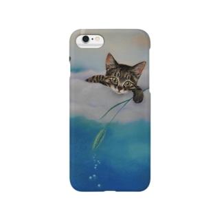 雲の上からキラキラ・・ Smartphone cases