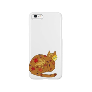 秋ねこ(='x'=) Smartphone cases