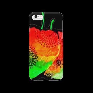 埃溜まりのほおずき Smartphone cases