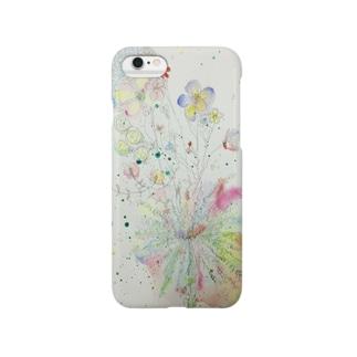 お花のサーカス Smartphone cases