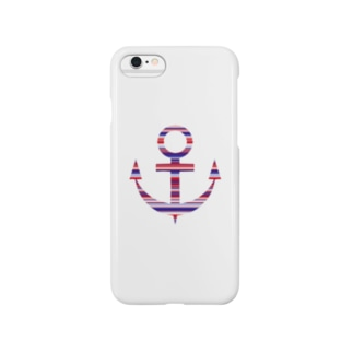 Anchor(Stripe) Smartphone cases