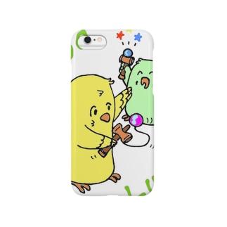 のりのりぴーちゃん Smartphone cases