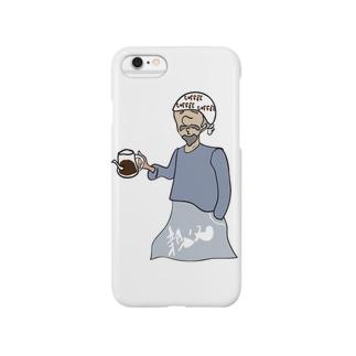 珈琲屋の親父 Smartphone cases