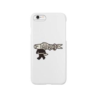 【期間限定】ジャンボこいのぼりマン Smartphone cases