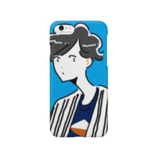 青空サマーボーイ Smartphone cases