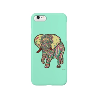 Elephant-Green Smartphone cases