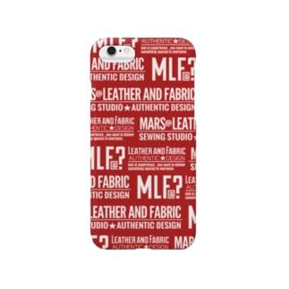 MLF@? Original Goods ShopのMLF@?モノグラム/red Smartphone cases