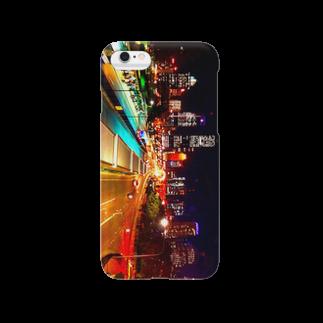 HERMANAS365のDowntown(夜) Smartphone cases