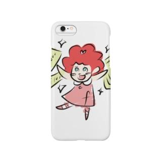 takejuneのFrilタン HAPPY Smartphone cases