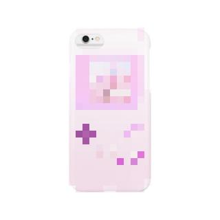 GAME OVER #Pink スマートフォンケース