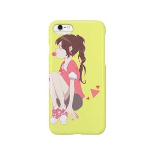 Yellow② Smartphone cases