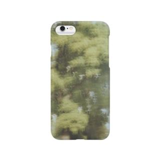 緑のiPhoneケース Smartphone cases