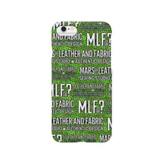 MLF@?モノグラム/サイケVer./green Smartphone cases