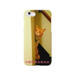 ちらっとてんちゃん Smartphone cases