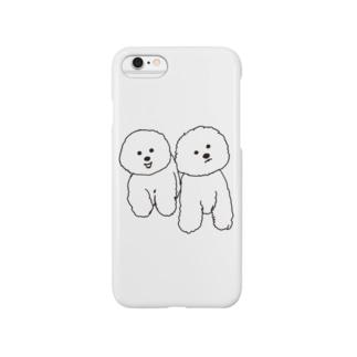 mamegoma01 スマートフォンケース