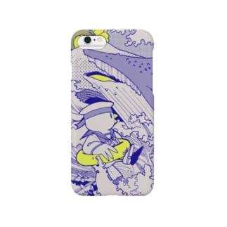 波に夏鳥 Smartphone cases