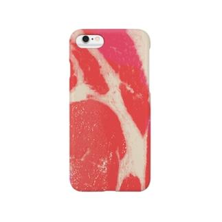 豚ロース Smartphone cases