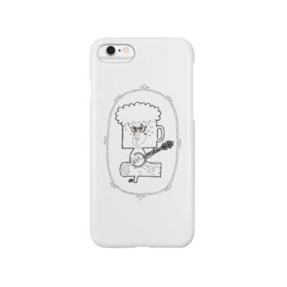 バンジョービールマン Smartphone cases