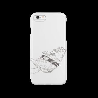 どせいのわっかのもふねこ Smartphone cases