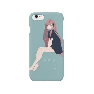 おすわりガール Smartphone cases