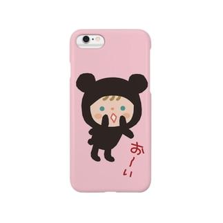 iPhone6ケース【おーい】 Smartphone cases