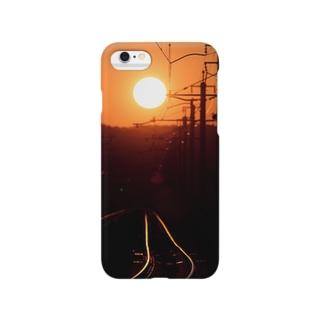 サンセットレール Smartphone cases