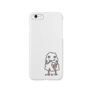 コットン Smartphone cases