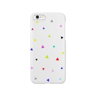 POPな三角 Smartphone cases