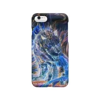 青炎龍Blue fire dragon Smartphone cases
