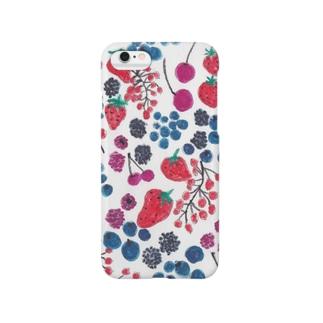 ベリー! Smartphone cases
