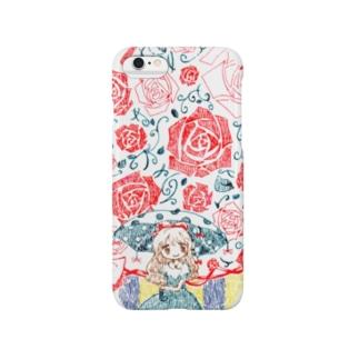 薔薇降りアリス Smartphone cases