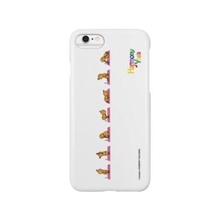 ハーモニーヨガ 太陽礼拝 Smartphone cases