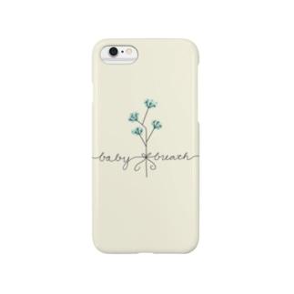 Baby Breath 〜かすみ草〜 Smartphone cases