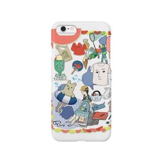 なつ。 Smartphone cases