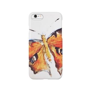 クジャクチョウ Smartphone cases