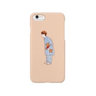 パジャマでおはよう Smartphone cases