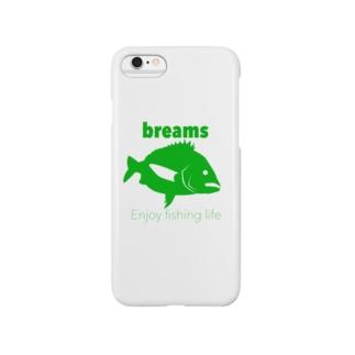 クロダイ(ブリームス) Smartphone cases