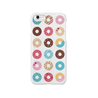 ドーナツいっぱい【Vol.1】 Smartphone cases