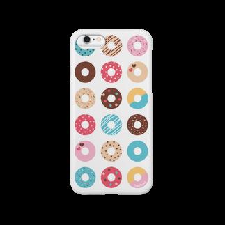 溝呂木一美のお店のドーナツいっぱい【Vol.1】 Smartphone cases