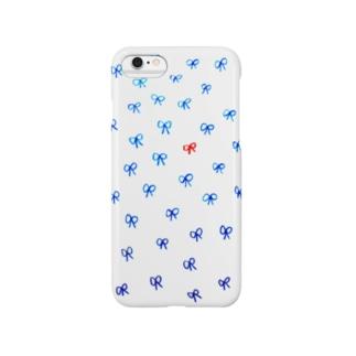 りぼんちょうちょ Smartphone cases