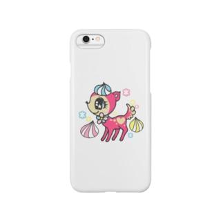 ピンクバンビ Smartphone cases