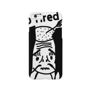 落ち武者 So Tired Smartphone cases