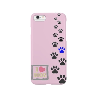 犬の足跡 DOGver スマートフォンケース