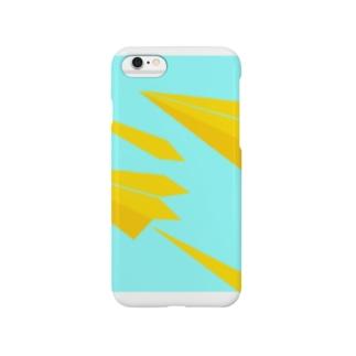 紙ひこうき Smartphone cases