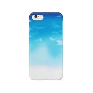 晴れ渡る空 Smartphone cases
