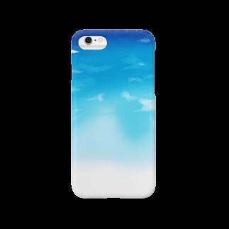 エマの晴れ渡る空 Smartphone cases