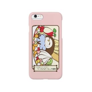 ♡ARCO♡のあいすくろうとぷりんアラモード Smartphone cases