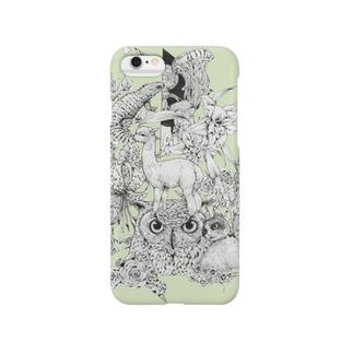 ミミズク Smartphone cases