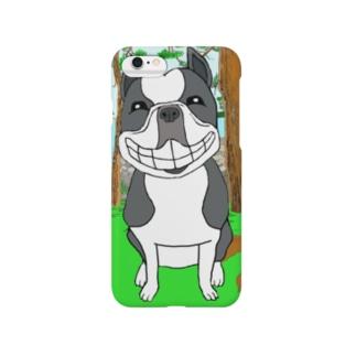 ボストンテリア Smartphone cases