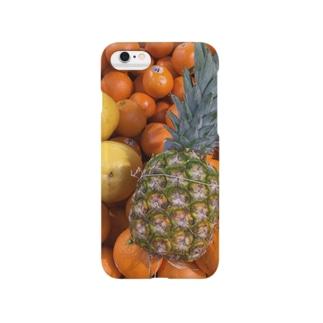 トロピカルフルーツ Smartphone cases